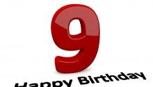 9º aniversario
