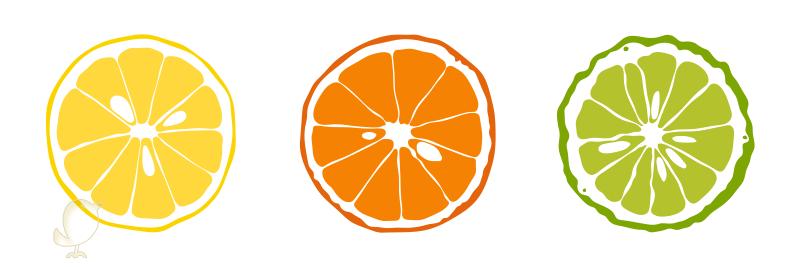 limón-naranja-bergamota