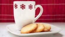 Pastas de coco con té Limón Dulce