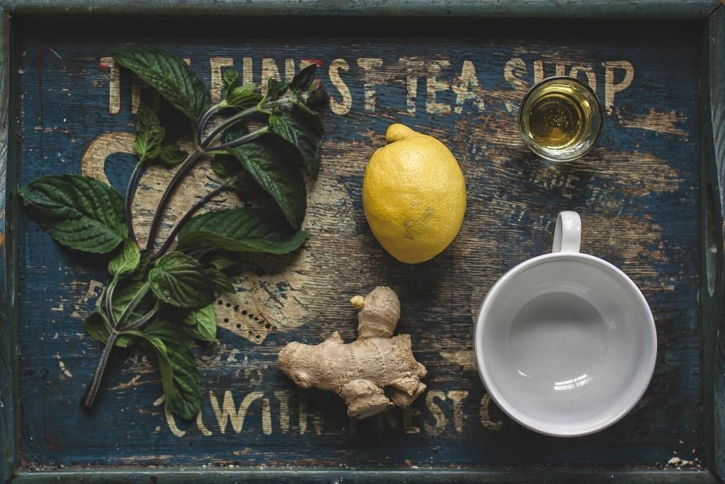 té verde jengibre y limon