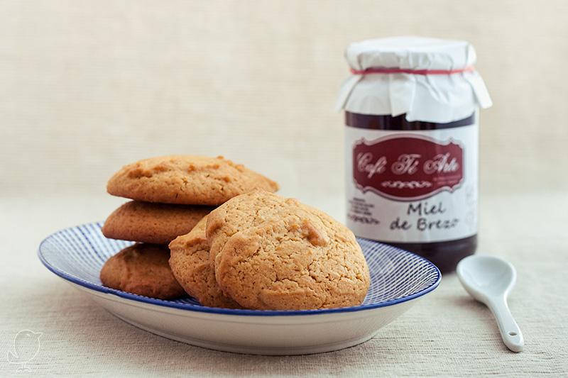 Galletas de miel de brezo | CafeTeArteBlog