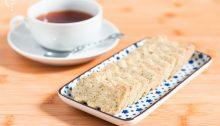 Galletas té rojo pu-erh vainilla