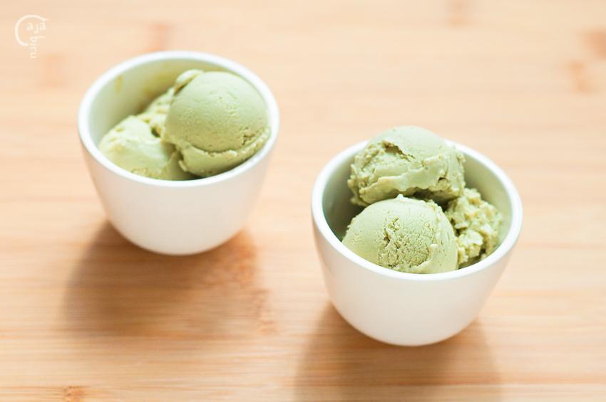 Helado de yogur y té matcha (3)