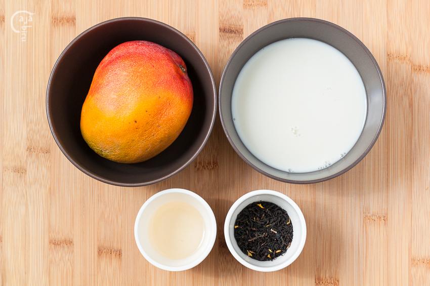 Polos de té y mango